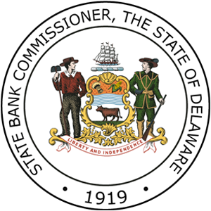 Delaware State Bank Commissioner Seal